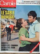 "Roman photos ""Carole"" (mai 1969) le sable du désert - Miriam Makéba"