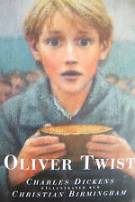 Oliver Twist Charles Dickens Illustrated by Christian Birmingham Large Hardcover