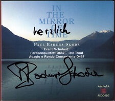 Paul BADURA-SKODA Signiert SCHUBERT Trout Forellenquintett IN MIRROR OF TIME 2CD