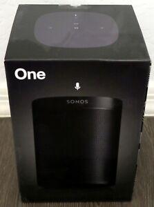 *****New Sonos One Gen 2 Voice Controlled Smart Black Speaker w/Alexa L@@K*****