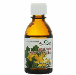 Wart remover natural acne treatment celandine oil restoring for problem skin 25m