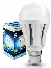 10W B22 LED Light Bulb Bayonet Cap Warm White VERY BRIGHT 10W = 100W