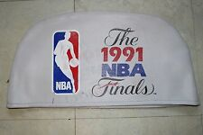 1991 NBA FINALS SEAT BACK COVER  **GAME USED**