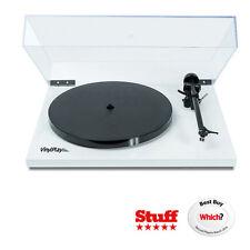 Flexson VinylPlay Turntable White 33-1/3 & 45 USB Preamp Sonos FLXVP1011US NEW!