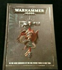 ML DI Warhammer 40,000 8th Edition Rulebook Hard Cover - NEW