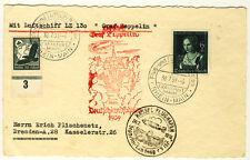 ZEPPELINKARTE LZ 130 Fahrt nach KASSEL 1939 (133)