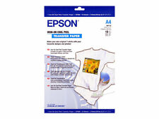 Epson 10 Sheets 210mm X 297mm Light Fabric Iron on Transfer Paper Inkjet Printer