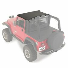 Rampage 90701 California Brief Top Soft Top Black for 1976-1986 Jeep CJ-7