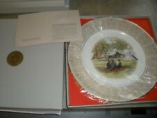 New Lenox Collector Series Plate Trustees of the White House Confederate Camp