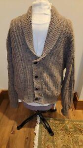 Vintage Pendleton Wool Shawl Collar Cardigan Sweater Sz L Made In USA EUC