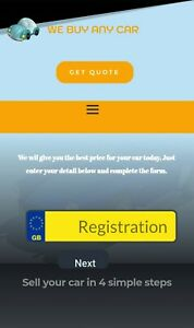 Business for sale. Established car and scrap buyers website.