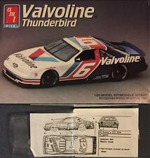 AMT 8756 1/24 Ford Thunderbird With decals for #1 Jeff Gordon Carolina Ford deal