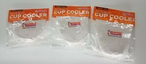 Dunkin Donuts 2018 Iconic Cup Cooler Koozie SIZE CHOICE White FREE SHIPPING
