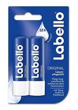Labello Classic Care Lip Balm 2x 0.18 oz - 5g - Pack of two