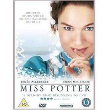 Miss Potter 2007 Renee Zellweger, Ewan McGregor, Lucy Boynton NEW UK R2 DVD