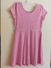 Girls Skater Dress - Red and White - Size 14 (Large) - Cotton/Spandex - NWT