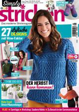 Simply Stricken 05/2018 - 27 stylische Designs mit Wow Effekt - Der Herbst kann