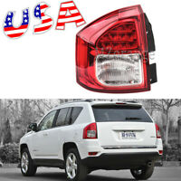 US Left Side Driver Rear Tail Lamp Assembly Light Fit For Jeep Compass 2011-2014