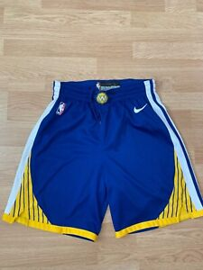 Golden State Warriors NBA Stephen Curry Nike shorts jersey