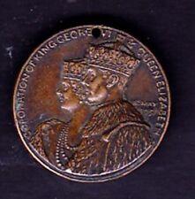 "A KING GEORGE VI &QUEEN ELIZABETH ""UNITED BRITISH EMPIRE"" CORONATION MEDAL 1937"