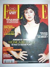 Magazine mode fashion ELLE French #3120 17 octobre 2005 Monica Bellucci