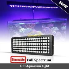 360W LED Aquarium Light Full Spectrum Dimmable Reef Coral Marine Fish Tank Lamp