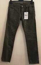 "ERMANNO SCERVINO Distressed Men's Jeans Army Size uk 32""W 33L"