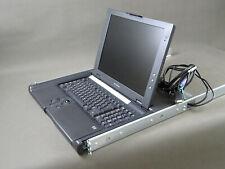HP TFT 5600 RKM Keyboard DE Rackmount Console PS2 VGA mit Schienen P/N237259-002