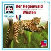 WAS IST WAS - FOLGE 24: DER REGENWALD/WÜSTEN CD NEU
