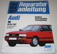 Reparaturanleitung Audi 90 Typ 89 B 3 mit 5 Zylinder 2,0 / 2,3 Liter + Quattro!