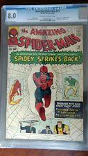 AMAZING SPIDERMAN #19 (1964) CGC 8.0 VERY FINE