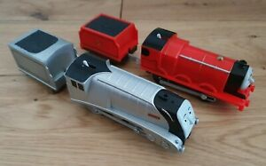 Thomas The Tank Engine / Trackmaster Motorised James & Spencer Trains & Tenders