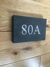 Slate Slab Door Number 1-3 digits Thick Slate