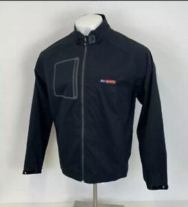 Footjoy FJ Dryjoys Hydrolite Golf Jacket Black Sz Large Mens