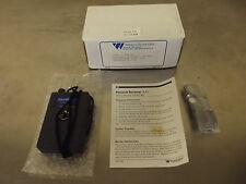 Williams Sound Model RX7 Personal Infrared Receiver 250KHz-New In Box-m1088