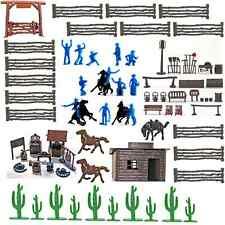 Marx Recast Western Ranch Bundle - 60mm unpainted figures and accessories