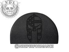 Jentra Grip Plug for Glock GEN 1-3 17 19 22 23 24 34 35 Spartan Helmet Flag