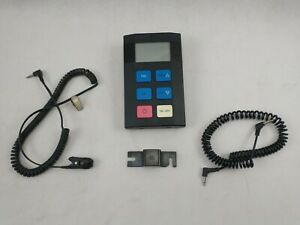 NORDIC TRACK SKI MACHINE MONITOR WITH MOUNT AND CORDS PULSE SPEED