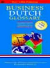 Business Glossary: English-Dutch, Dutch-English (Bilingual Business Glossary) B
