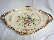 Vintage RIGO of Brussels PLATTER  #159B Colorful & Ornate - Large & Heavy
