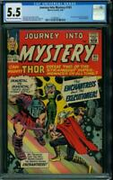 Journey Into Mystery #103 CGC 5.5 1964 1st Enchantress! Avengers! H7 117 cm