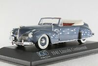 A.S.S MINICHAMPS PMA 1:43 FORD LINCOLN CONTINENTAL 100 JAHRE USA EDITION OVP MIB