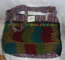 Maumee World Traders Bohemian Cross Body Sack Tote Seed Book Bag