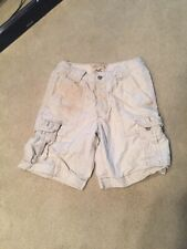 Hollister Cargo Tan Shorts Size 30