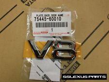 "Lexus GX470 (2003-2009) OEM Genuine REAR Trunk Door ""V8"" LOGO BADGE EMBLEM"