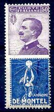 REGNO 1924 - PUBBLICITARI  DE MONTEL  50 Cent. NUOVO **