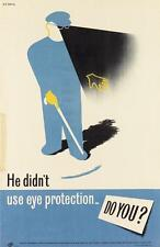 HANS ARNOLD ROTHHOLZ (1919-2000). [WORK SAFETY.] Two posters. Circa 1... Lot 500