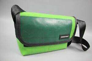 FREITAG F41 HAWAII Green Used PVC Crossbody Messenger Cycling /Casual bag Sz S