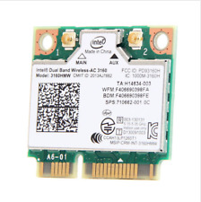 Intel 3160 3160HMW Dual Band Wireless-AC 802.11ac Wifi Mini PCI-E Card BT 4.0