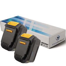 Lot de 2 batteries 14.4V 3000mAh pour Dewalt DCD730L  - Société Française -